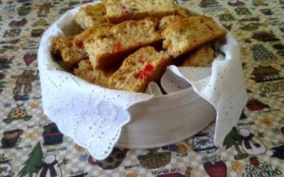 Cherry Pecan Buttermilk Rusks