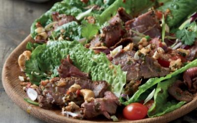 Fiery Beef Salad with Cashews